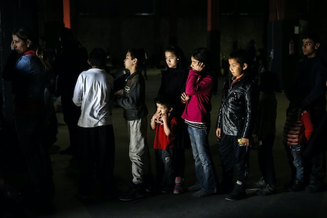 Thirty-six percent of refugees crossing European borders in 2016 are children. (Image: REUTERS/Alkis Konstantinidis)