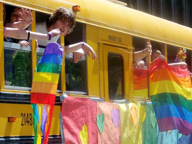 Nästan alla skolrektorer i Nederländerna uppger att deras skolor lägger ner tid på att främja HBTQ-acceptans. (Bild: Jon Gilbert Leavitt)