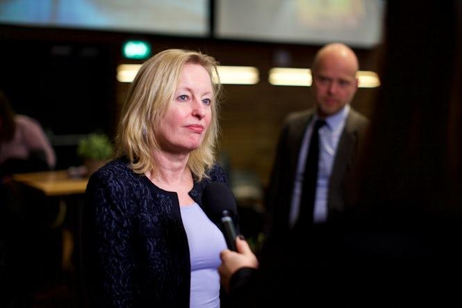 Utbildningsinspektionens rapport har skickats till parlamentet av utbildnings-, kultur- och vetenskapsminister Jet Bussemaker. (Bild: Sebastiaan ter Burg)