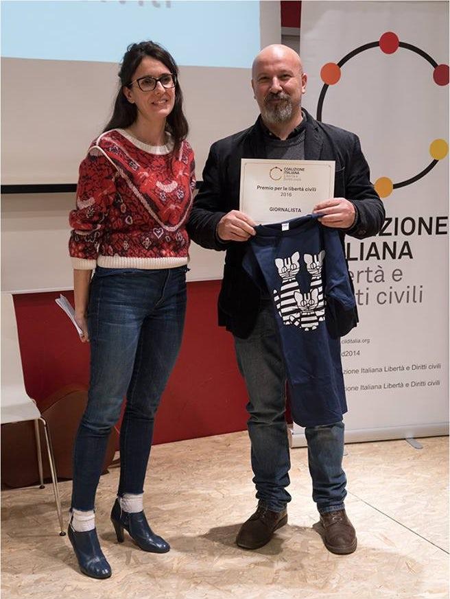 Valerio Cataldi (desno)