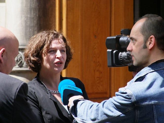 Ministrul Sănătății, Edith Schippers, a propus proiectul de lege pe care Casa olandeză a Reprezentanților l-a adoptat pe 13 septembrie (Imagine: Roel Wijnants)