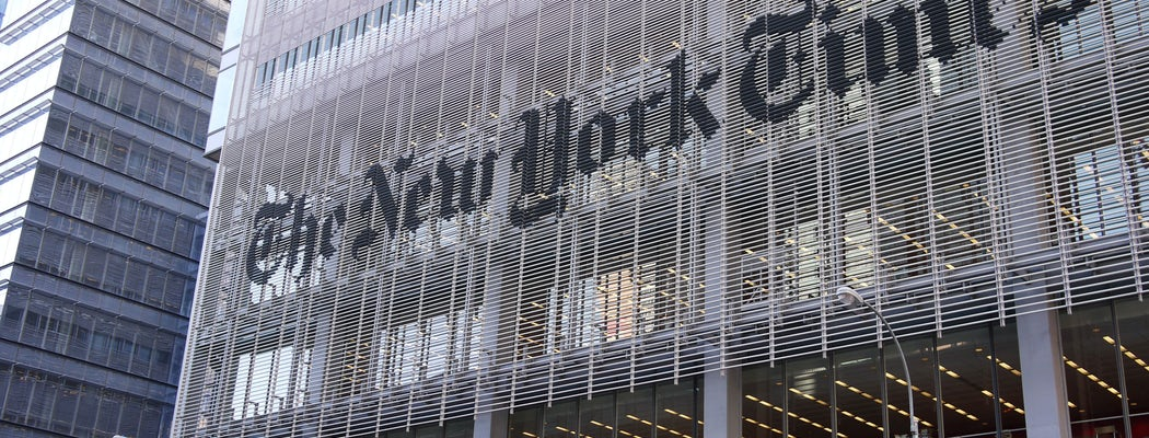The New York Times Is Now Available Via Tor Onion Browser :: Civil