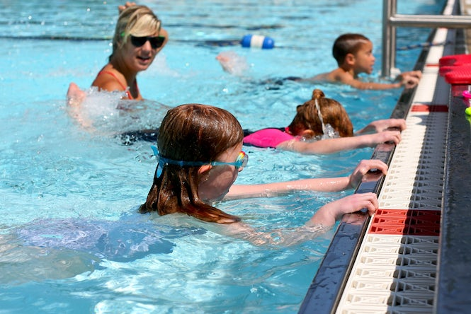 The ECtHR said that mixed swimming classes were an important opportunity for children to be around other children, regardless of religious or other beliefs. (Image: Susy Morris)