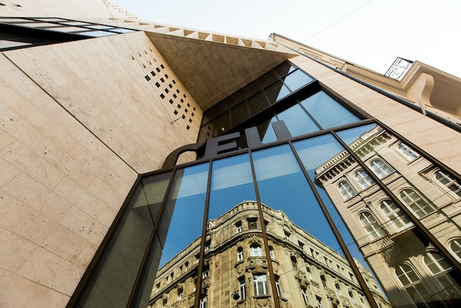 A draft law currently before Parliament would make it impossible for Central European University to continue operating in Hungary. (Image: Central European University)