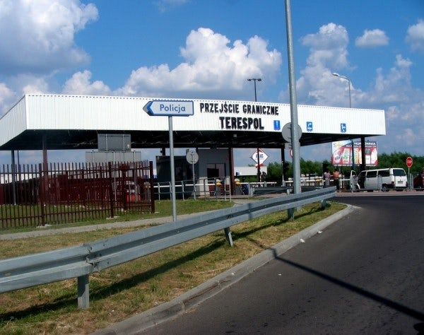 The Chechen national had tried to enter Poland through the Terespol crossing station 27 times before. (Image: photo.bikestats.eu)