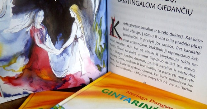 Two of the fairy tales in the book feature homosexual protagonists.