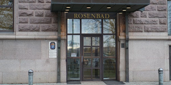 The Department of Justice offices at Rosenbad 4. Civil Rights Defenders will meet with representatives from the department to discuss the problem areas identified in the report. (Photo: Isabel Gustafsson)