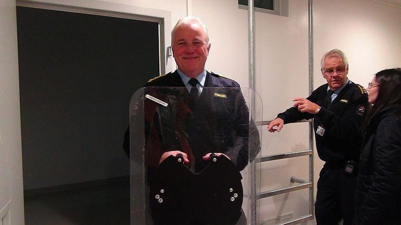 Il direttore del carcere Are Høidal lavora nel sistema penitenziario norvegese dal 1983.