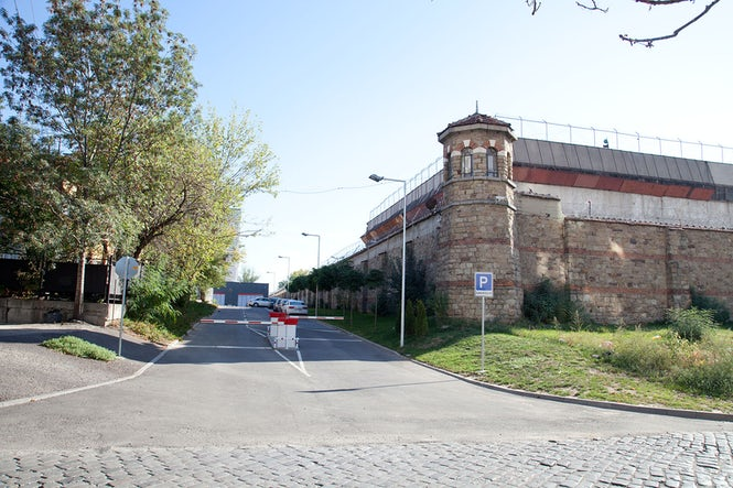The Sofia Central Prison. Inter-prisoner violence remains one of the biggest problems throughout the Bulgarian penitentiary system.