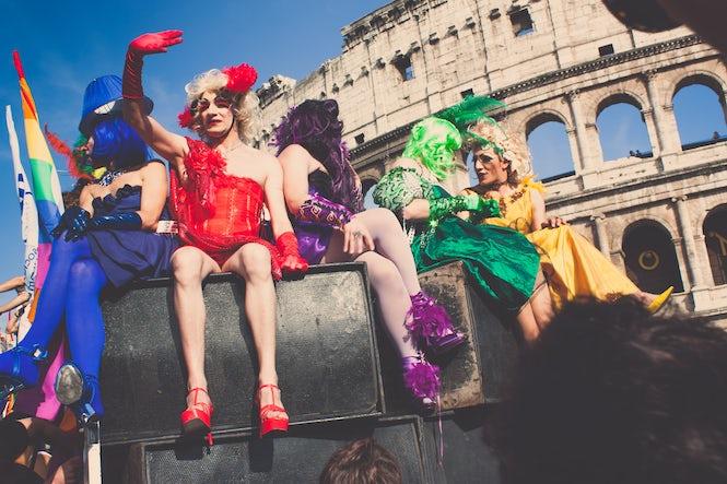 La Parada Gay de la Roma au participat 700.000 de persoane. (Imagine: Jerome Naselli - Flickr/CC)
