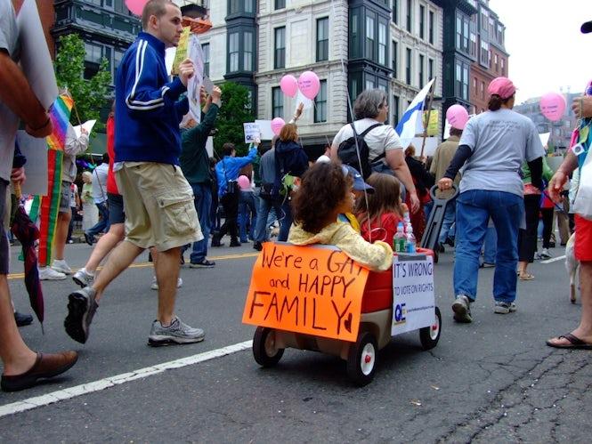 El futuro de los niños no depende de la orientación sexual de sus padres.