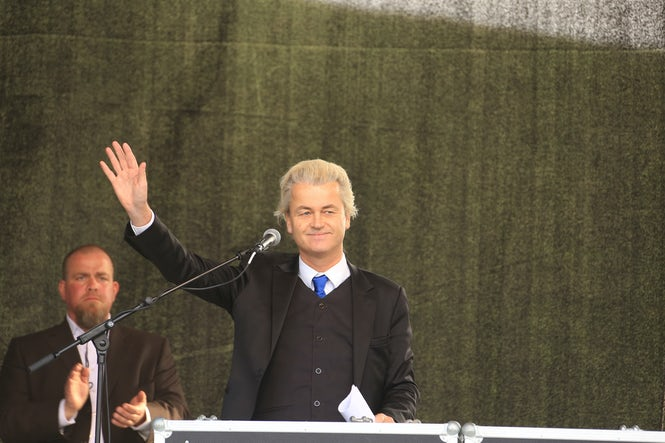The offensive interview was part of a documentary looking at the views and motives of controversial Dutch politician Geert Wilders.  (Image: Metropolico.org - Flickr)