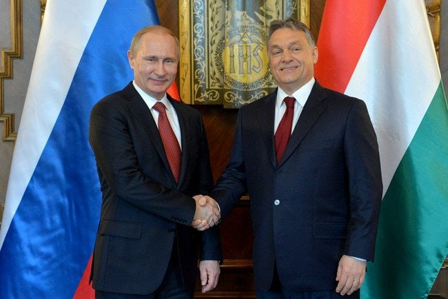 """Prime Minister Viktor Orban is borrowing tactics from Putin in his pursuit of an """"illiberal democracy."""""""