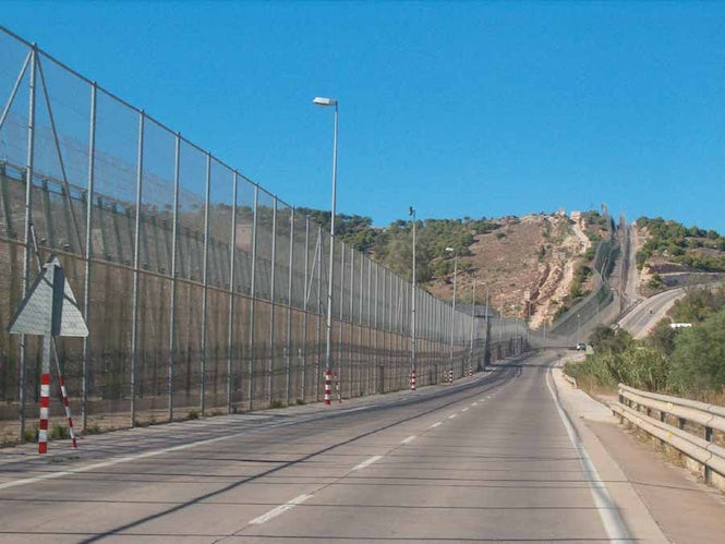 The Spanish government justifies summary returns at the borders of Ceuta and Melilla (seen here) by citing the need to control migration.