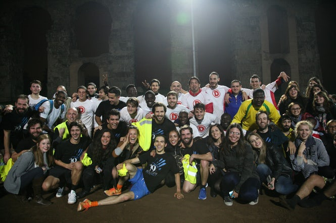 The Atletico Diritti team together with The 19 Million Project peeps (PH: Catarina Falcao)