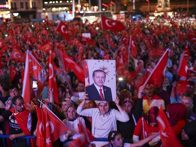 After coup nightly demonstartion of president erdogan supporters. istanbul  turkey  eastern europe and western asia. 22 july 2016.jpg?ixlib=rails 0.3